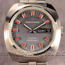 Eterna -matic Kontiki Sevenday Ref. 110ftt Automatic Steel...