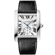 Cartier Men's Tank MC Stainless Steel Watch