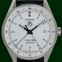 Ταγκ Χόιερ (TAG Heuer) Carrera Twin  Time Automatic GMT Open...