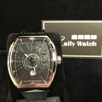 Franck Muller Cally -Vanguard Stainless Steel Black Automatic...