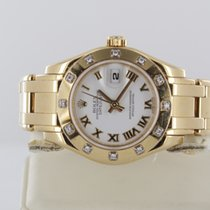 Rolex Datejust Pearlmaster Lady Gelbgold Diamond