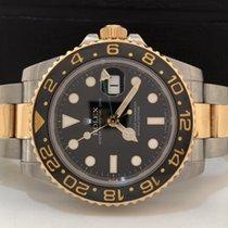 Rolex Gmt Master Il Ouro & Aço Ceramica Completo Impecável