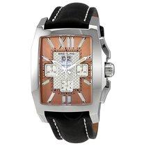 Breitling Bentley Flying B Amber Dial Chronograph Men's Watch