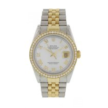 Rolex Oyster Perpetual Datejust 16233 Diamond Dial