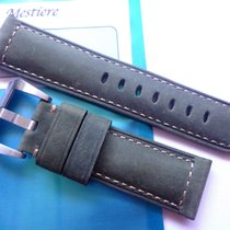 Bodhy Strap Handmade leather strap in 24mm - Green 24/22mm...