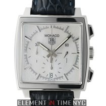 TAG Heuer Monaco Chronograph Steel Mother Of Pearl Dial 38mm