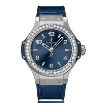 Hublot Big Bang Automatic Stainless Steel Blue Dial Unisex...