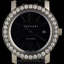 Μπούλγκαρι (Bulgari) 18k White Gold Diamond Bezel B&P...
