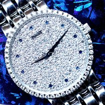 Piaget Dancer Diamond Dial White Gold with Blue Sapphire