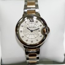 Cartier Ballon Bleu 18K Pink Gold Diamond Dial 33mm [NEW]