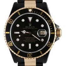 Rolex Used 16613_pvd Oyster Perpetual Submariner Date Two-Tone...