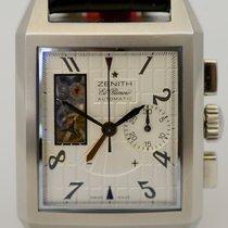 Zenith Port-Royal Open concept Face Silver Chronograph El primero