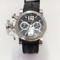 Graham CHRONOFIGHTER RAC BLACK SHOCK