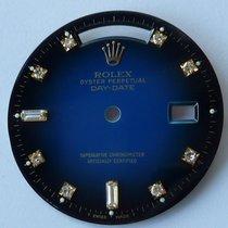 Rolex blue Day Date DEGRADE VIGNETTE dial Zifferblatt factory