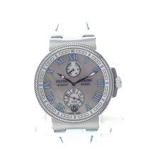 Ulysse Nardin Marine Chronometer Manufacture diamond - NEW -...