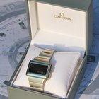 Omega Constellation Time Computer Led Rosso 1972 Eccellenti...