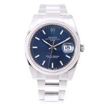 勞力士 (Rolex) Oyster Perpetual Date Stainless Steel Blue...