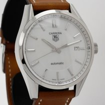 TAG Heuer Carrera Denim Calibre 5 on Hermes strap WV211D.EB0017