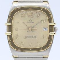 Omega Constellation Chronometer Quartz 18k Gold-Steel