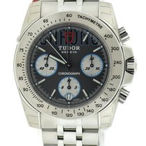 Tudor Sport Chronograph Grey Dial Stainless Steel