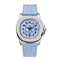 Patek Philippe Aquanaut Ladies 18K Solid White Gold Diamonds