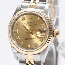 롤렉스 (Rolex) Rolex Lady Datejust Stahl Gold Ref.69173 Papiere...