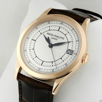 Patek Philippe Calatrava 5296r-001 38mm 18K Rose Gold Complete...