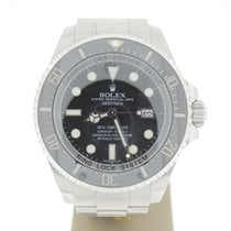 Rolex Seadweller Deepsea 44mm Steel (B&P2010) MINT Black Dial