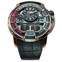 HYT H1 Red 2 Titanium Rose Gold Bezel