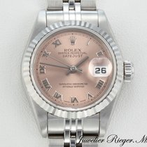 Rolex Datejust Stahl Weissgold 750 Automatik Lady Date Just