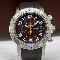 Hermès CP2.941 Clipper Mechanical Diver's Chrono 44 (26523)