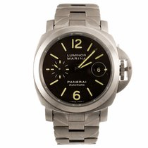 Panerai Luminor Marina Automatic 44MM Titanium Watch PAM00279...