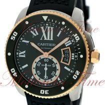 Cartier Calibre Diver, Black Dial - Stainless Steel & Rose...