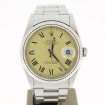 Rolex Datejust Gold Dial (B&P1997)  36mm