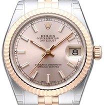 Rolex Datejust 31 Edelstahl Roségold Everose 178271 Pink Jubile
