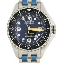 Azimuth Xtreme-1 Sea-hum Gmt Diving Watch 1500m/4921ft Wr S/s...