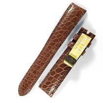 Chopard 16mm / 14mm brown alligator leather strap NEW