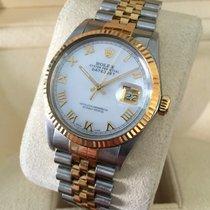 ロレックス (Rolex) Oyster Datejust Jubilee Gold Steel Pearl Roman...