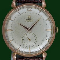 Omega Vintage Jumbo 37mm Automatic Cal 332 Pink Gold Plated