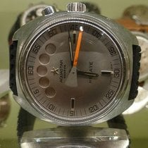 Aquastar vintage regate ref 9851 serial 4100424 Lemania....