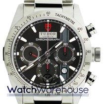 Tudor 42000-95730 BLK IND Fastrider Chronograph Black Dial Men...