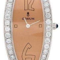 Corum 137.310.69/0000 PM15 Oval Ladies Quartz in White Gold...