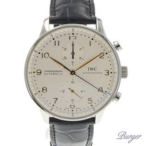 IWC Portugieser Chrono-Automatic Stainless Steel / Gold Numerals