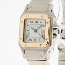 Cartier Santos Lady Automatik Stahl/Gold