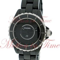 Chanel J12 33mm Quartz, Black Dial - Black Ceramic on Bracelet