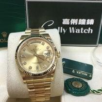 Rolex Cally - 118238 36mm DayDate President Champagne Diamond...