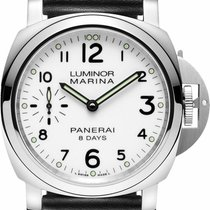 Panerai PAM00563 Luminor Marina Steel Men's Watch