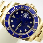 Rolex SUBMARINER DATE & CERAMIC BLUE 18K GOLD