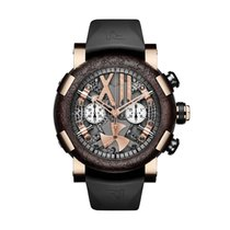 RJ-Romain Jerome Steampunk Red Gold Chrono