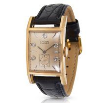 Gruen Curvex 370-615 Unisex Watch in Yellow Gold